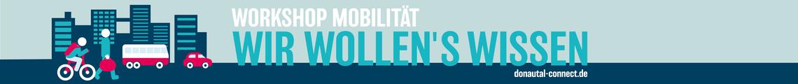 Wir wollen's wissen - Workshop Mobilität