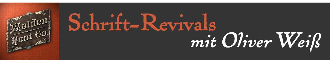 TypoTreff ONLINE: Oliver Weiß überSchrift-Revivals (kostenlos)