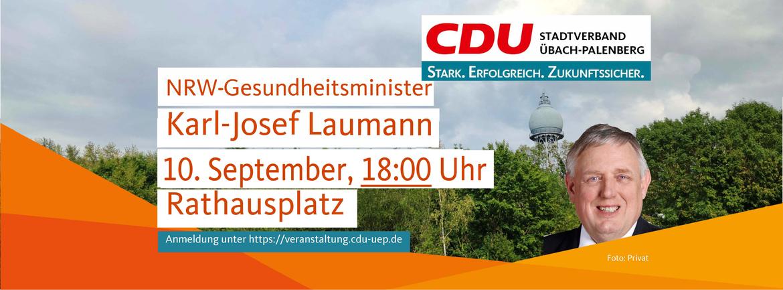 NRW Gesundheitsminister Karl-Josef Laumann