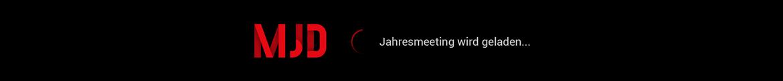 MJD Jahresmeeting - Digital Edition