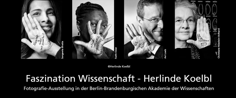 """AUSSTELLUNG – """"Faszination Wissenschaft. Herlinde Koelbl"""""""