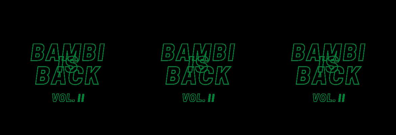 "Musikalische Freiluftkultur - ""BAMBI IS BACK Vol. 2"" - 23.07.2021"