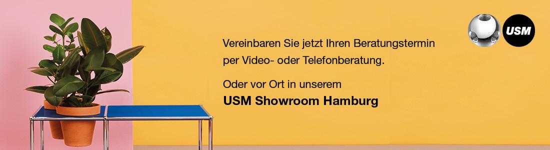 USM Showroom Hamburg - Terminvereinbarung