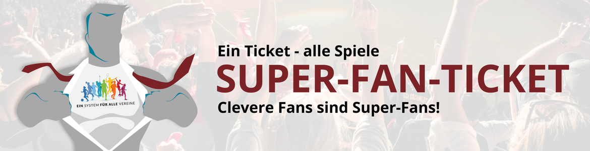 Vereinsticket Super-Fan
