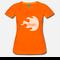 Oranges T-Shirt tailliert