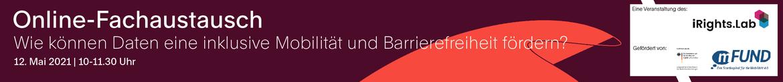 Wie können Daten eine inklusive Mobilität und Barrierefreiheit fördern?