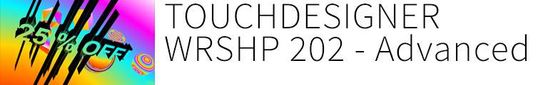 Touchdesigner Berlin 202 : Visual Computing with Touchdesigner 099 for Professionals
