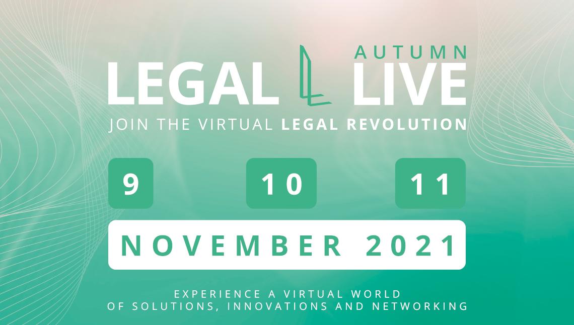 LEGAL LIVE AUTUMN 2021