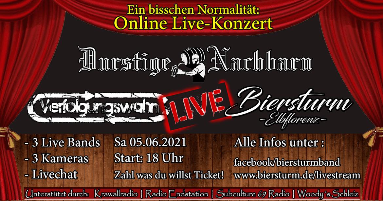 Biersturm Online Live Konzerte