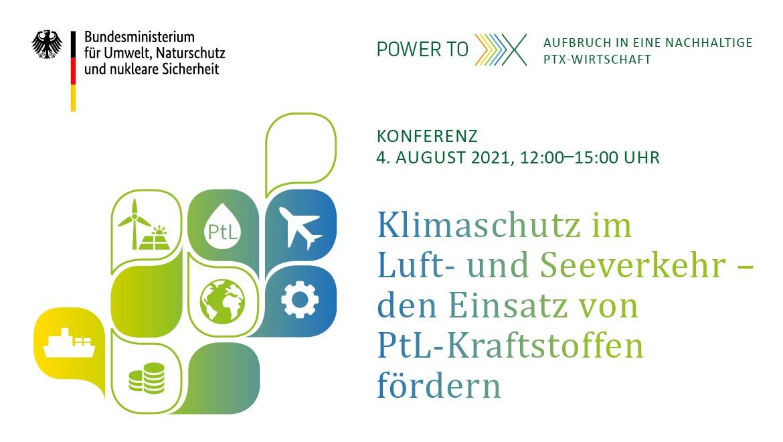 Klimaschutz im Luft- und Seeverkehr – den Einsatz von PtL-Kraftstoffen fördern!