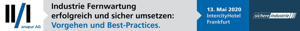 Industrie Fernwartung erfolgreich und sicher umsetzen:  Vorgehen und Best-Practices