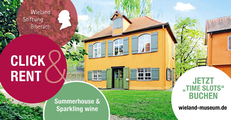 CLICK & RENT! Summerhouse and Sparkling Wine