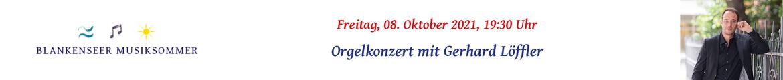 Orgelkonzert mit Gerhard Löffler