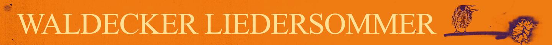 Waldecker Liedersommer
