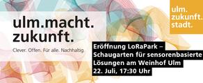 Opening LoRaPark Ulm
