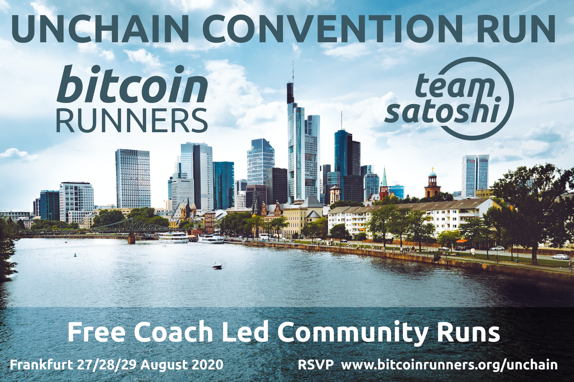 Unchain Convention Social Runs