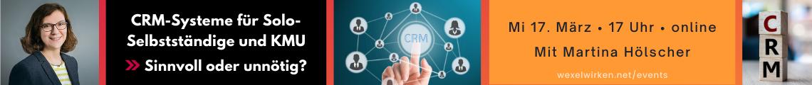 CRM-Systeme für Solo-Selbstständige und KMU? Sinnvoll oder unnötig?