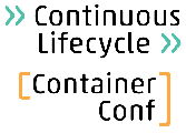 Continuous Lifecycle und ContainerConf 2020/2021