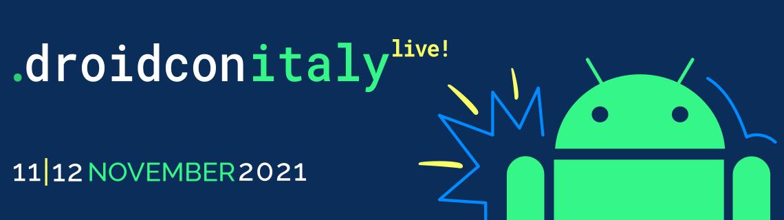 droidcon Italy Live 2021