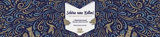 """""""Schöne neue Welten"""" - 1. phantastische Lesenacht 2019"""