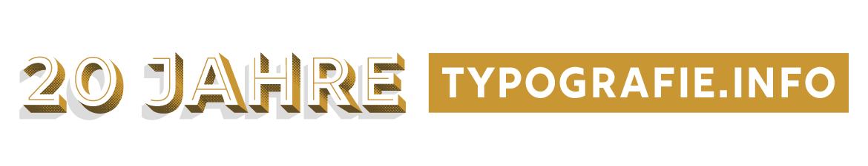TypoTreff ONLINE: 20 Jahre Typografie.info (kostenlos)
