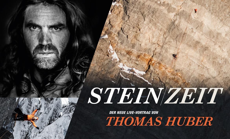 STEIN ZEIT von Thomas Huber (Huberbuam) - Freiluftvortrag in Baar-Ebenhausen